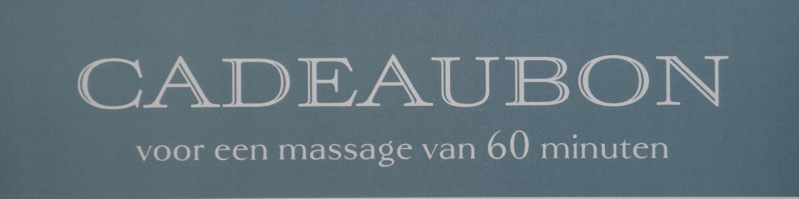 Cadeaubon Massage Katwijk MYB